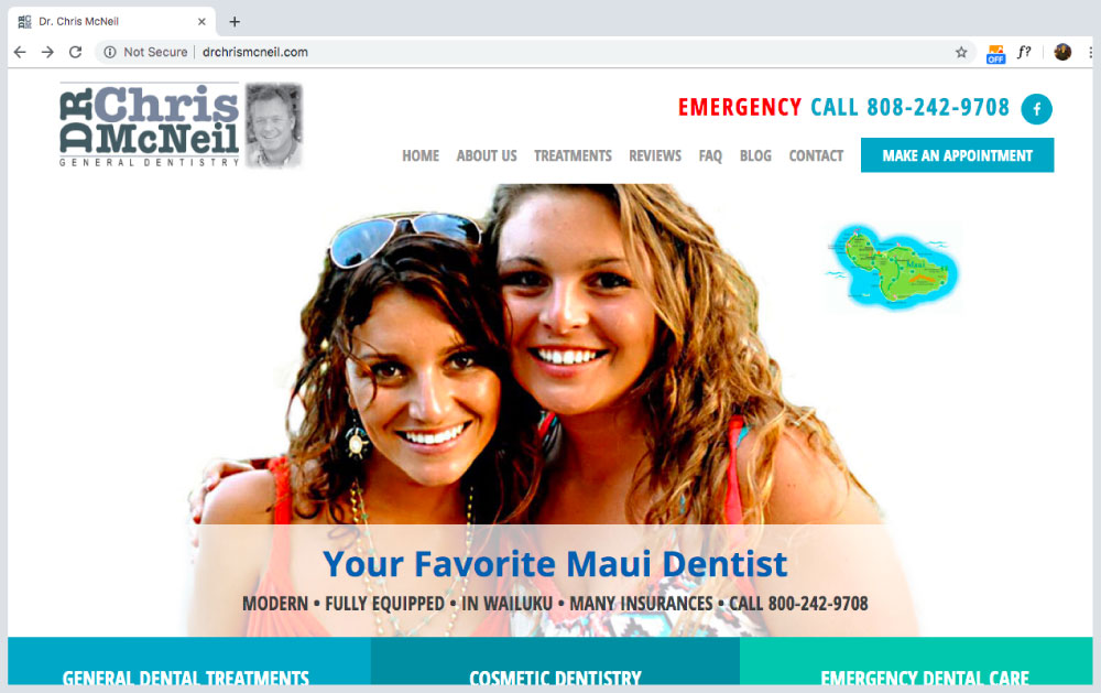 Dr. Chris McNeil dentist